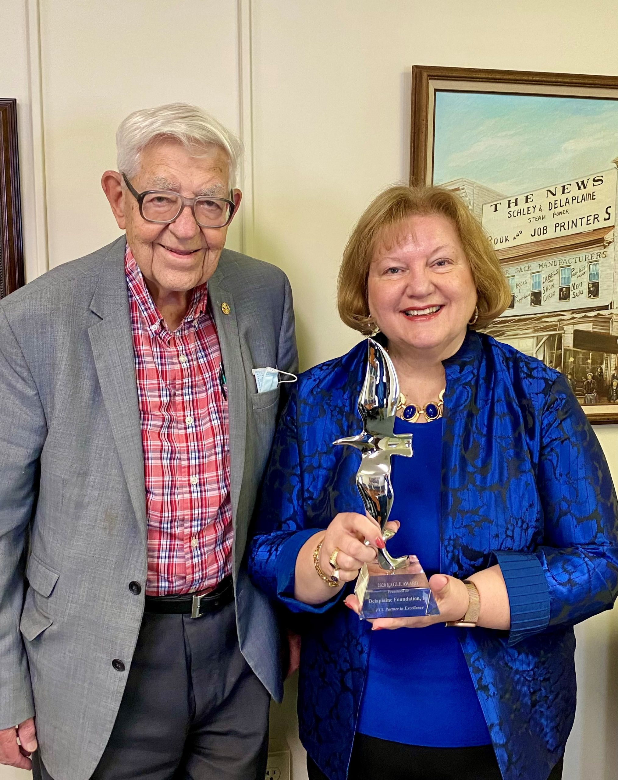 The Delaplaine Foundation Receives the Highest Award from the FCC Foundation